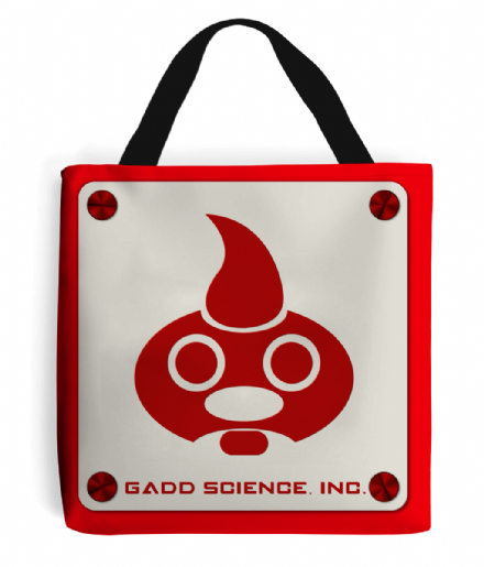 Luigi's Mansion Gadd Science Inc Super Mario Bros Tote Bag